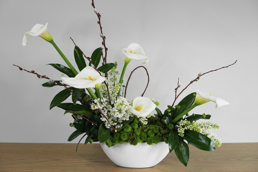 Calla Garden from Metropolitan Plant & Flower Exchange, local NJ florist