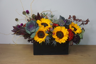 Fall Chic from Metropolitan Plant & Flower Exchange, local NJ florist