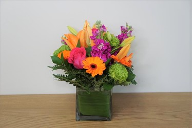 Lively Blooms from Metropolitan Plant & Flower Exchange, local NJ florist