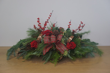 Very Berry Christmas from Metropolitan Plant & Flower Exchange, local NJ florist