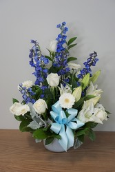 Welcome Baby Boy from Metropolitan Plant & Flower Exchange, local NJ florist