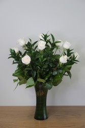 White Wishes from Metropolitan Plant & Flower Exchange, local NJ florist