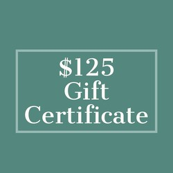 $125 Gift Certificate from Metropolitan Plant & Flower Exchange, local NJ florist