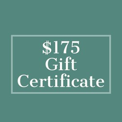$175 Gift Certificate from Metropolitan Plant & Flower Exchange, local NJ florist