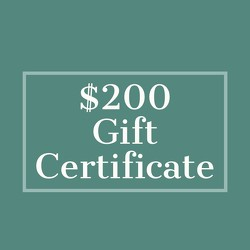 $200 Gift Certificate from Metropolitan Plant & Flower Exchange, local NJ florist