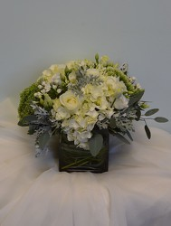 Whispering Whites from Metropolitan Plant & Flower Exchange, local NJ florist