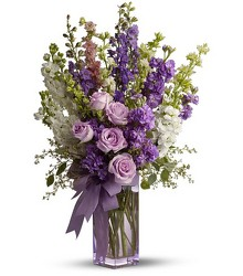 Pretty in Purple from Metropolitan Plant & Flower Exchange, local NJ florist