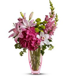 Pink & Playful from Metropolitan Plant & Flower Exchange, local NJ florist